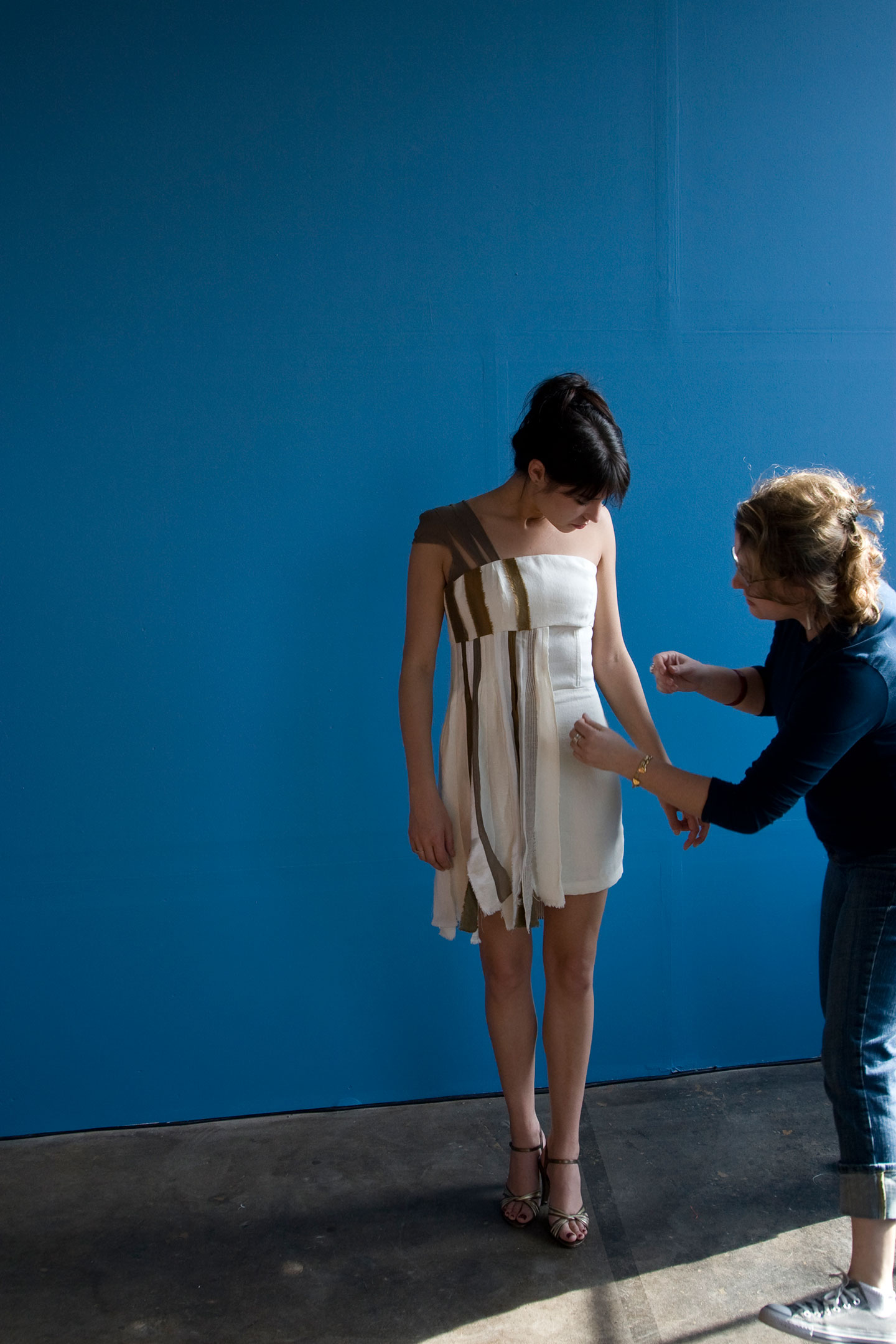 Hemp_Silk_Dress_Fitting