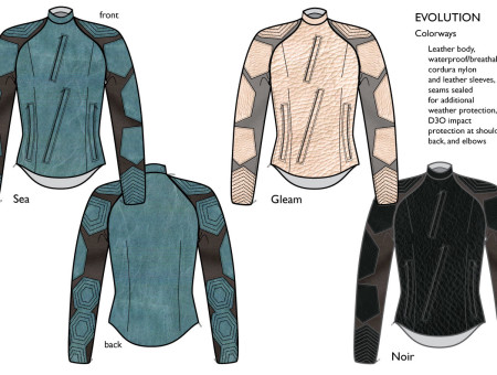 Moto Jacket – Evolution